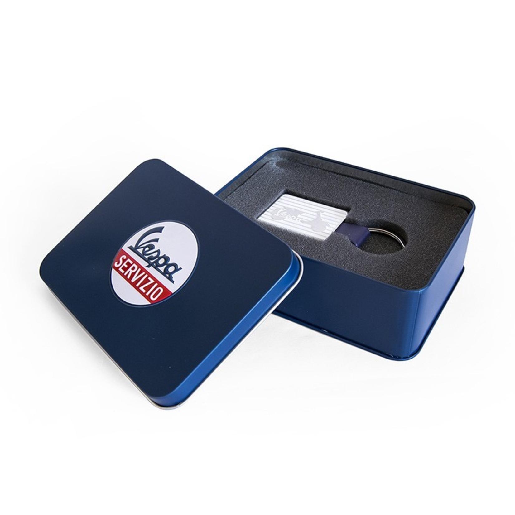 Lifestyle Keychain, Vespa White Gift Case