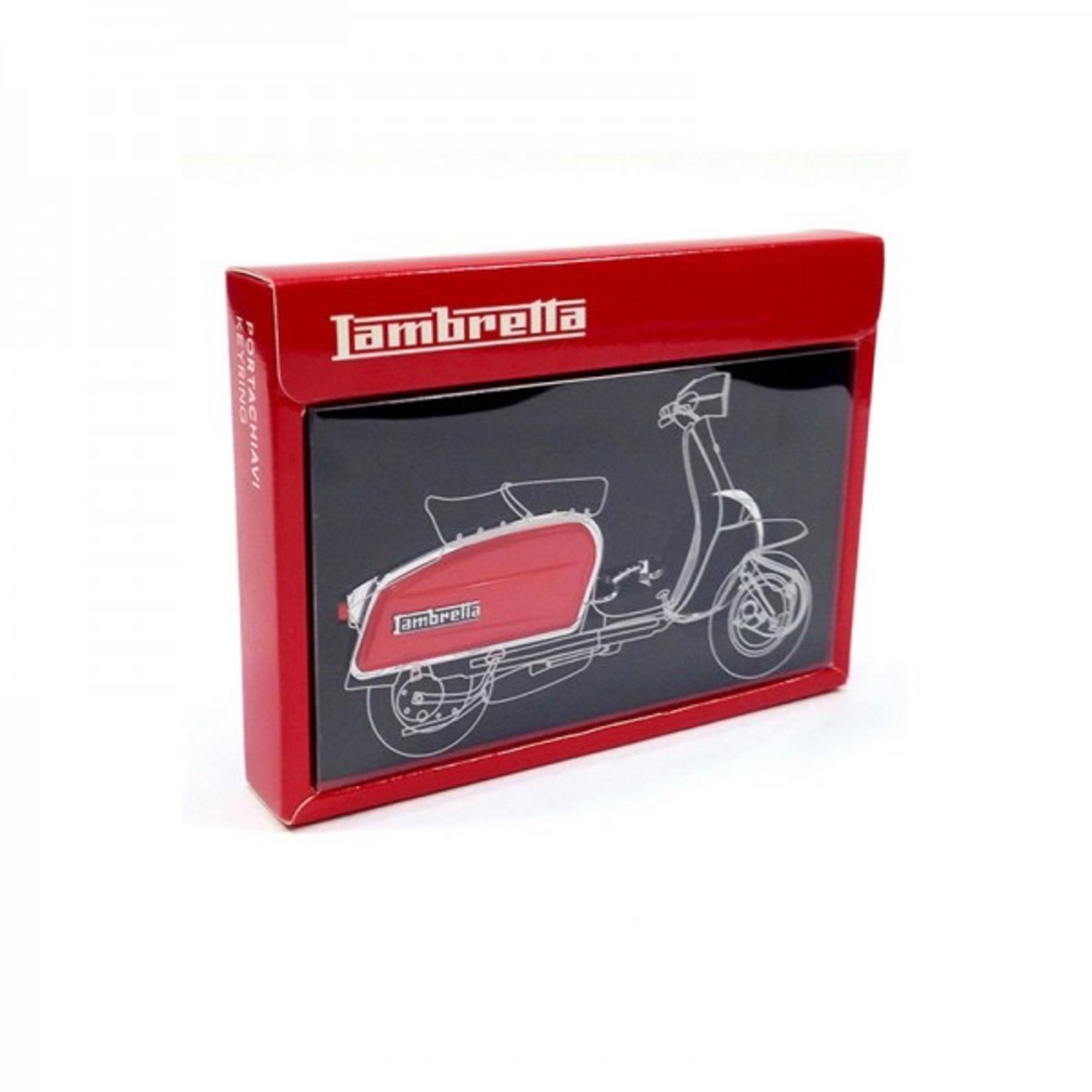 Lifestyle Keychain, Lambretta Side (3 Colours)