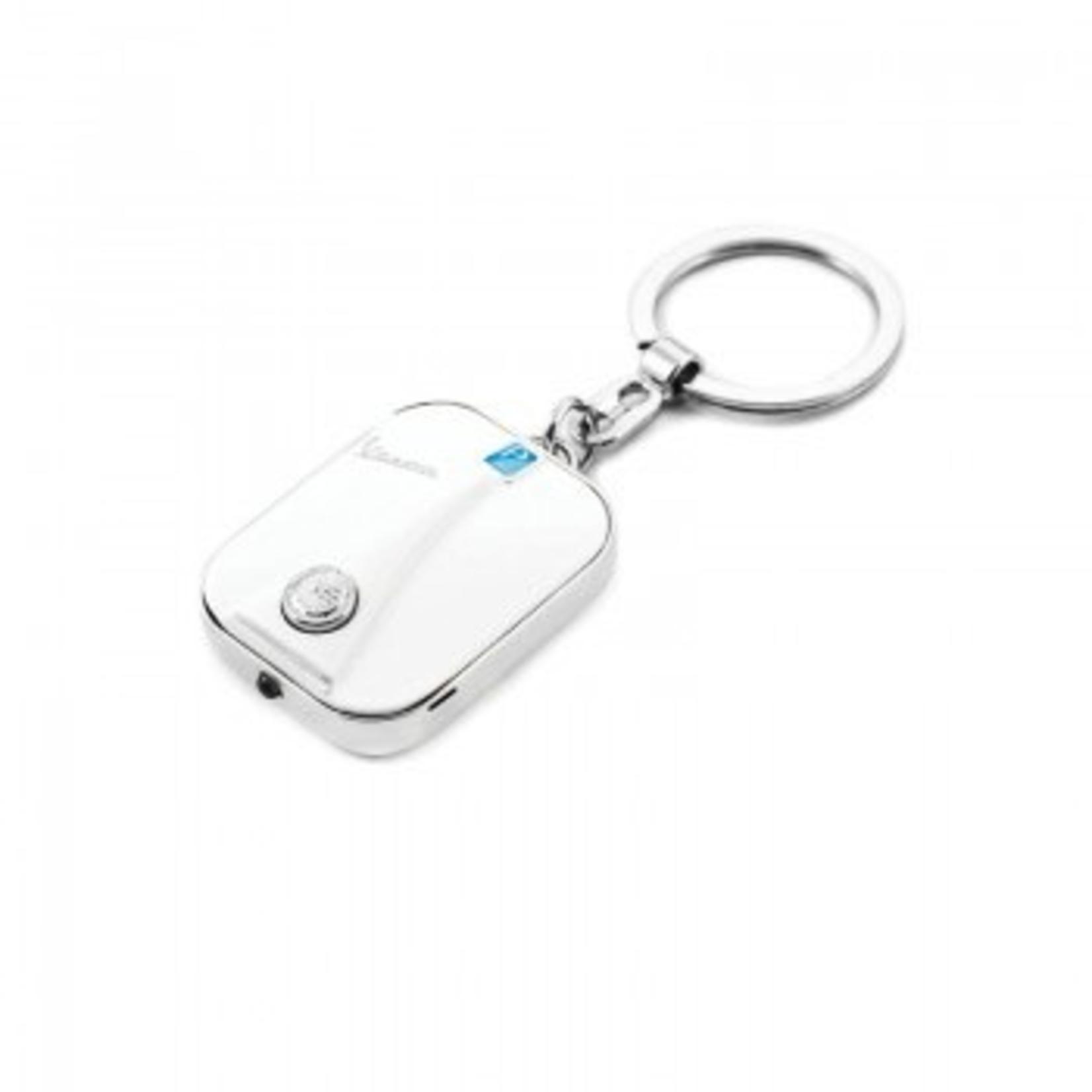 Lifestyle Keychain, Vespa Legshield/LED light White