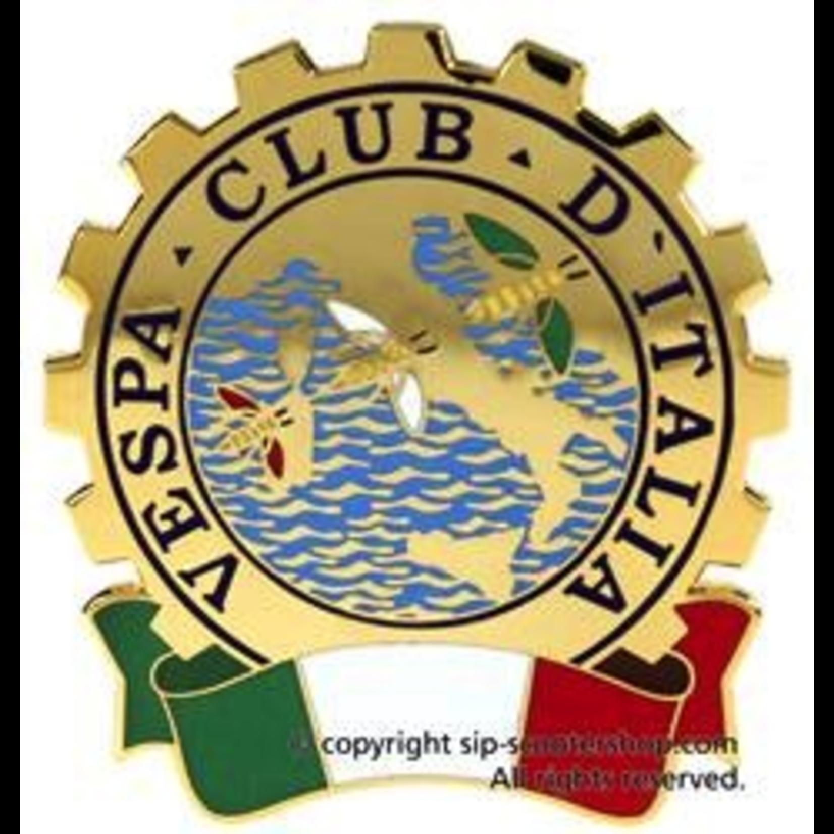 """Lifestyle Badge, """"Vespa Club Italia"""" Premium"""