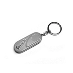 Lifestyle Keychain, Vespa Side Panel Grey