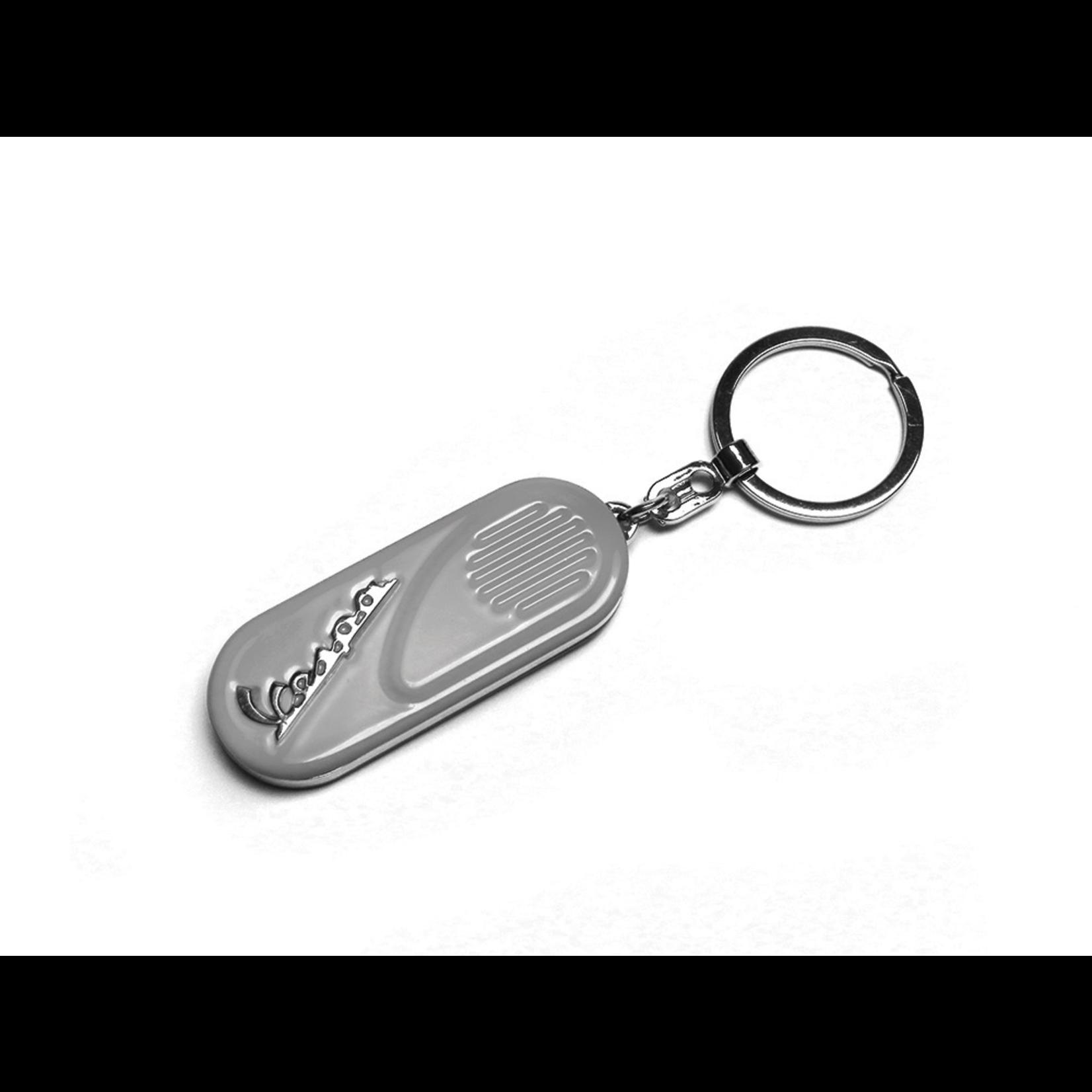 Lifestyle Keychain, Vespa Side Panel Grey