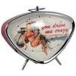 Lifestyle Clock, Alarm 'Vespa Girl'