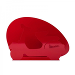 Lifestyle Magazine Rack, Vespa Red