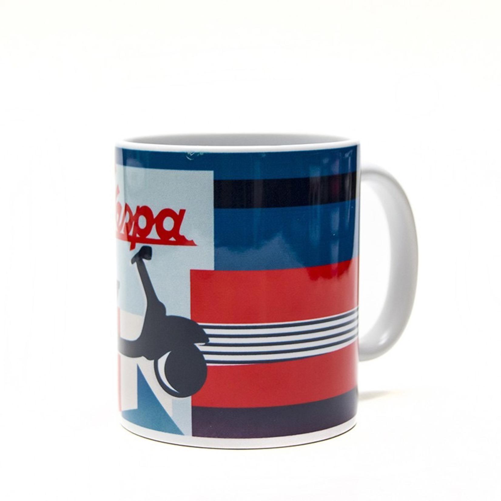 Lifestyle Mug, Vespa Red Logo Blue