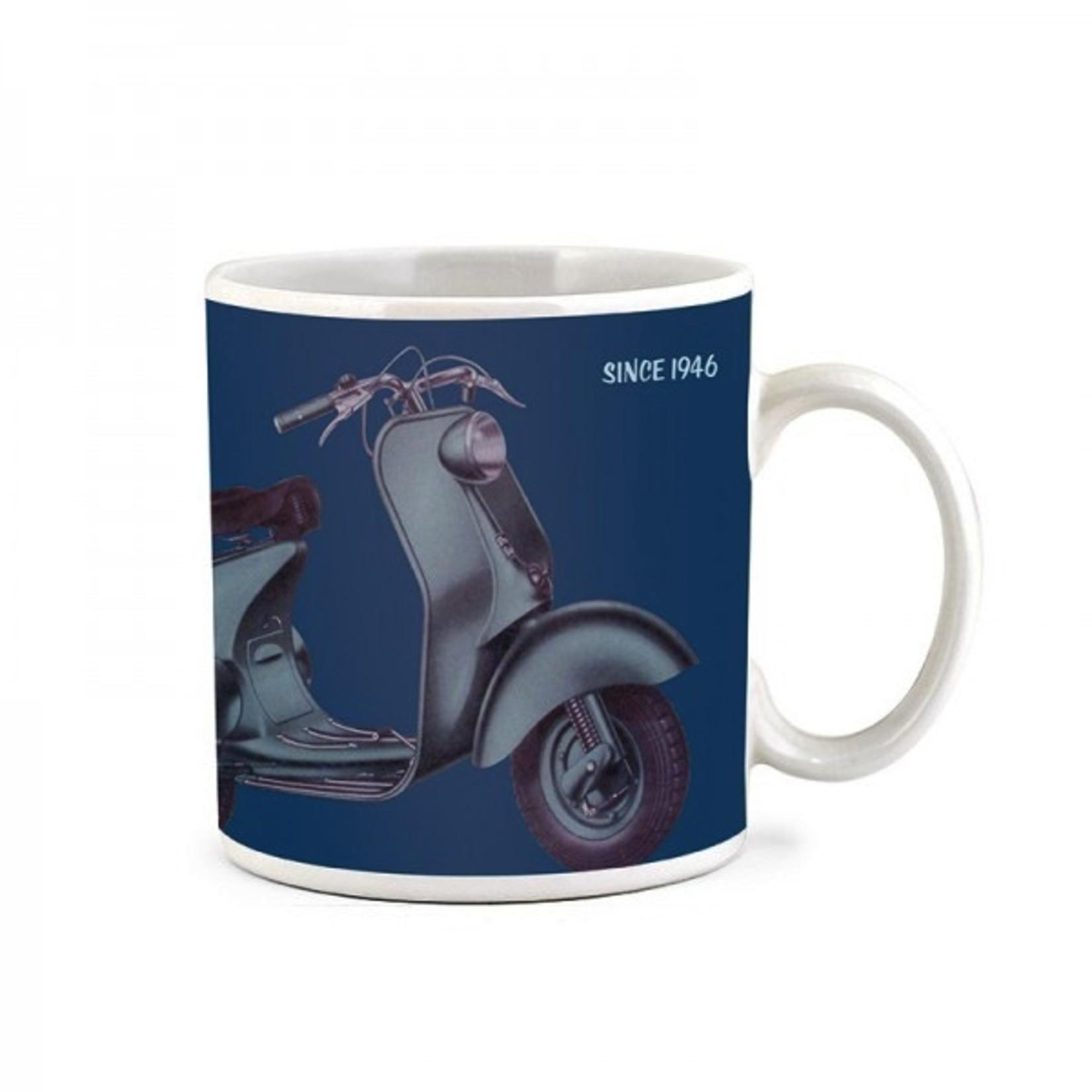 "Lifestyle Mug, Get Ahead On A Vespa"""
