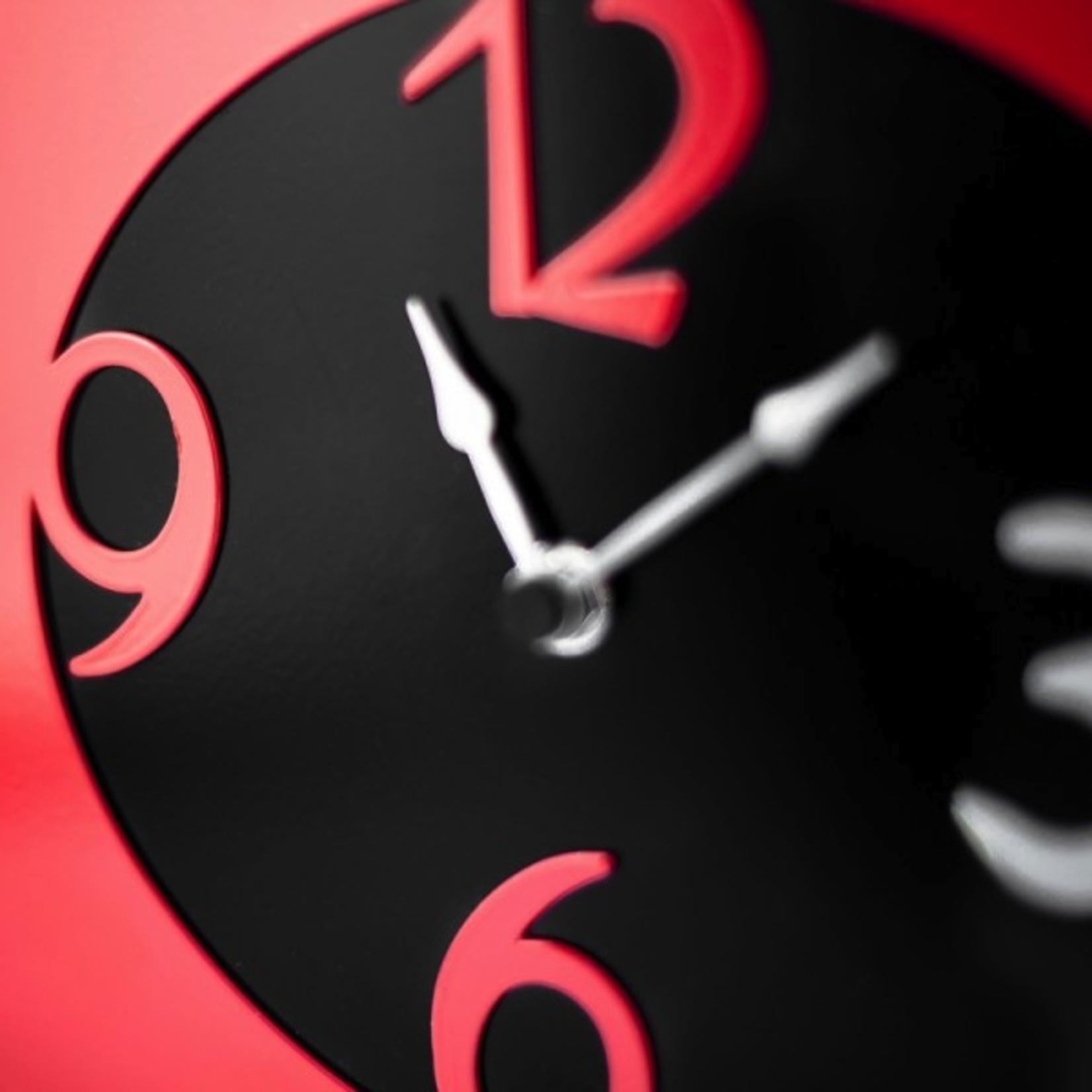 Lifestyle Clock, Vespa Apple Wall Clock Red