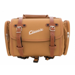 Accessories Top Case/Rack Bag, Brown Canvas 10ltr Classic