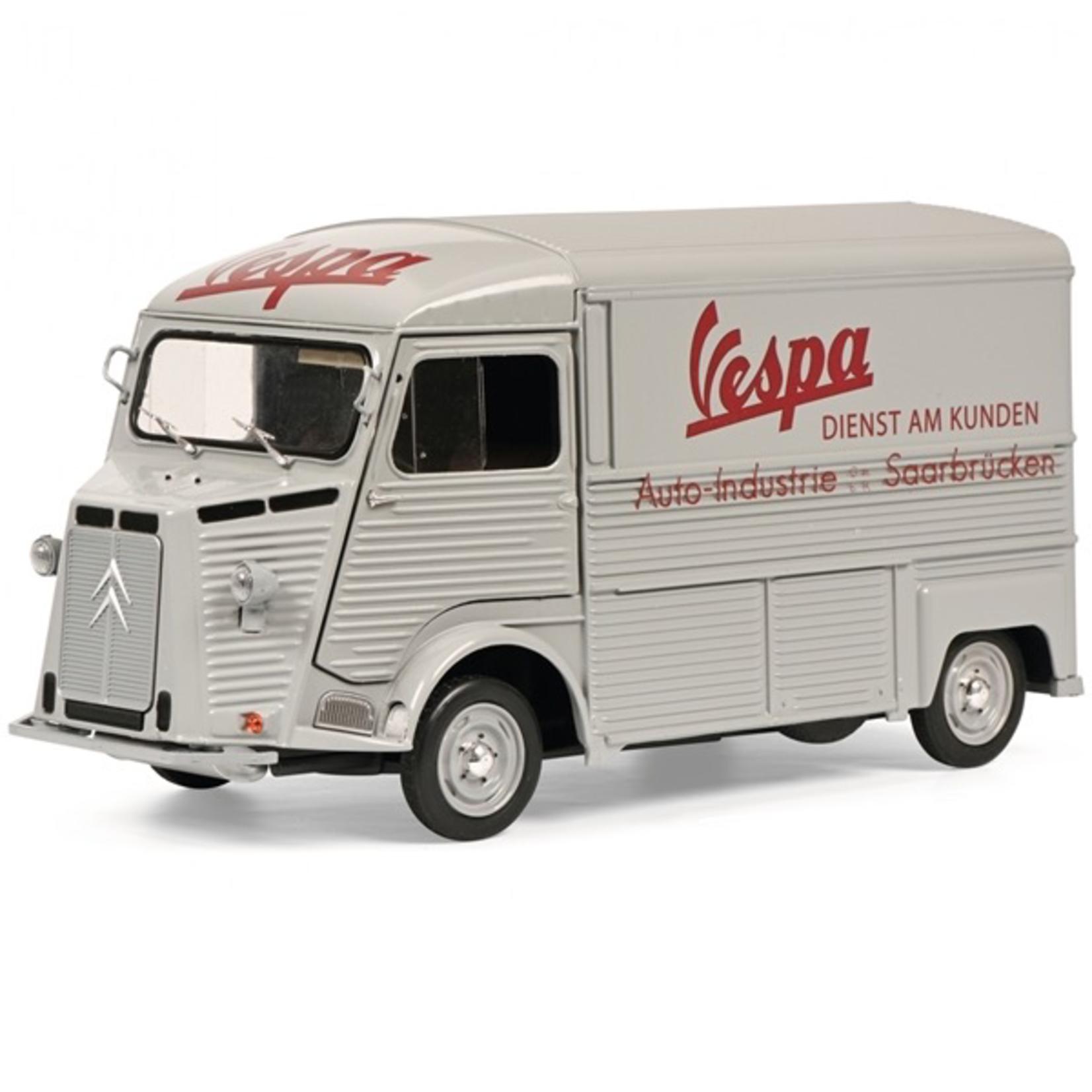 Lifestyle Toy, Schuco Vespa Citroen service truck (Limited 500 edition)