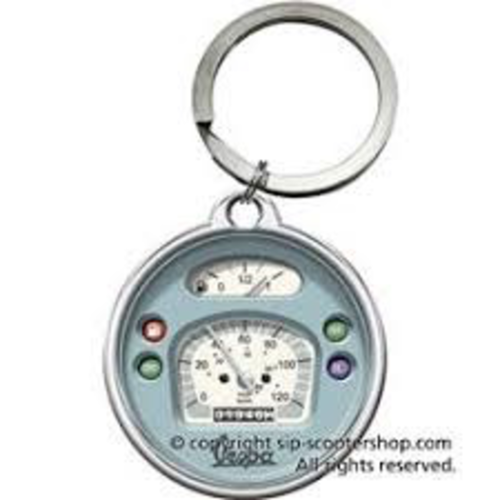 Lifestyle Key Chain, Vespa Speedometer
