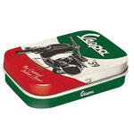 Lifestyle Tin Can, The Italian Classic green/red/black/white,   with peppermints