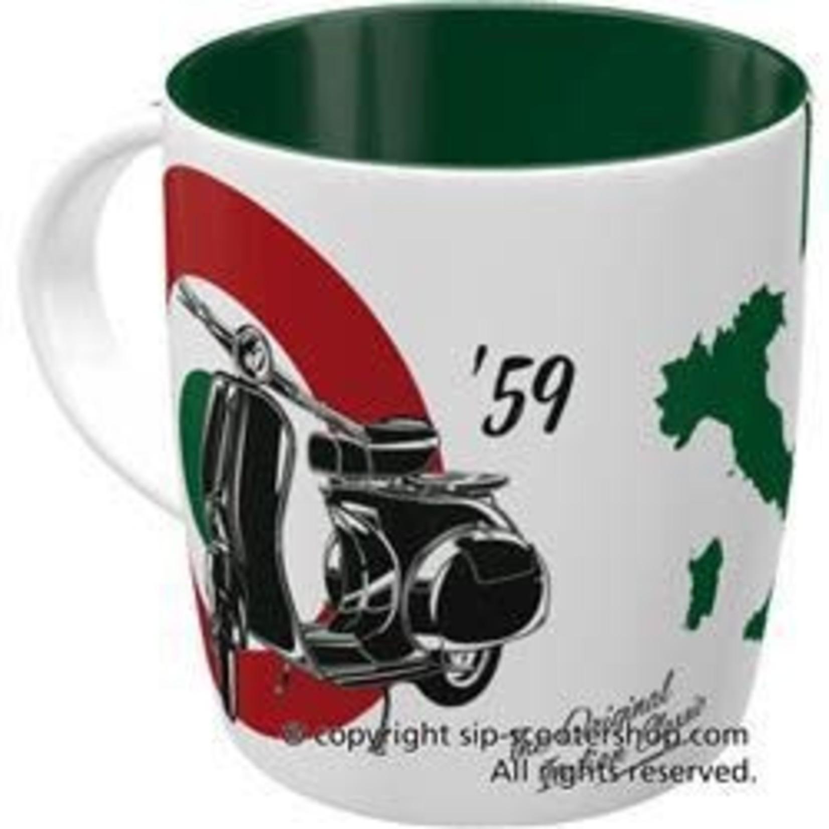 Lifestyle Mug, Vespa The Italian Classic Ceramic