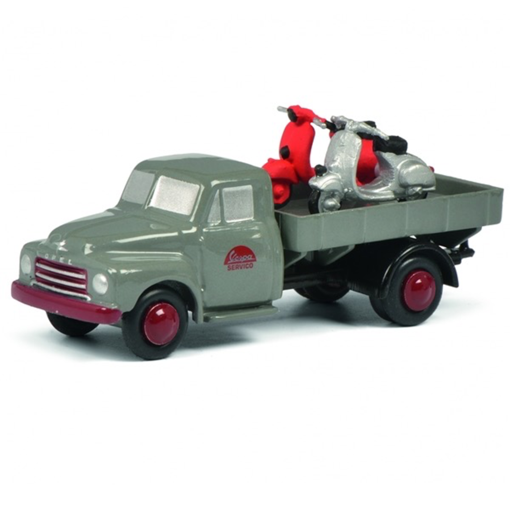 Lifestyle Toy, Schuco Vespa service truck (Limited 500 edition)