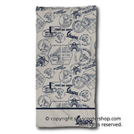 Lifestyle Beach Towel, Vespa Meeting Beige