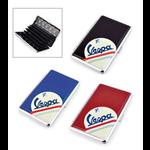 Lifestyle Business Card Case Black Vespa Motif