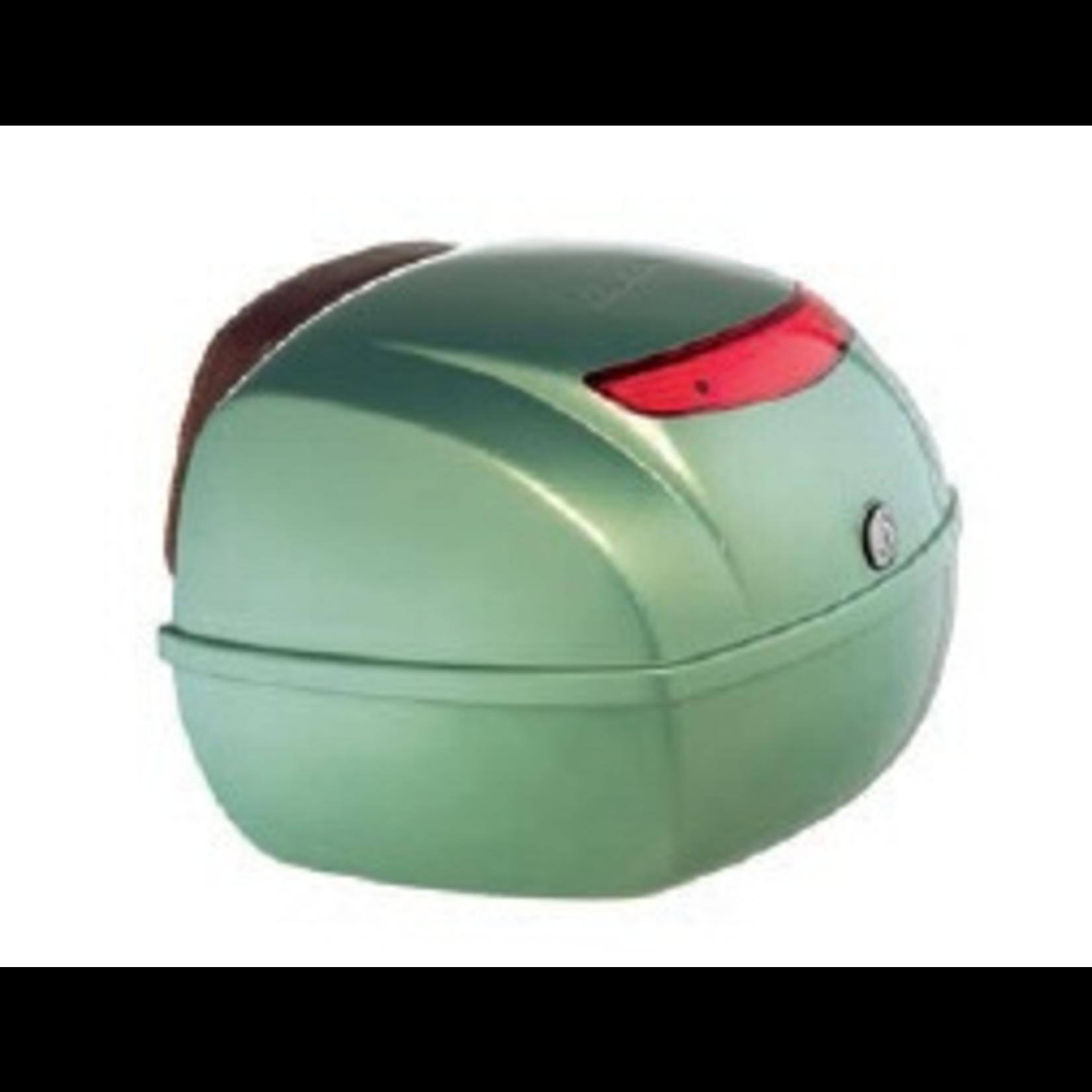Accessories Top Case, LXV Portofino W/Leather Backrest