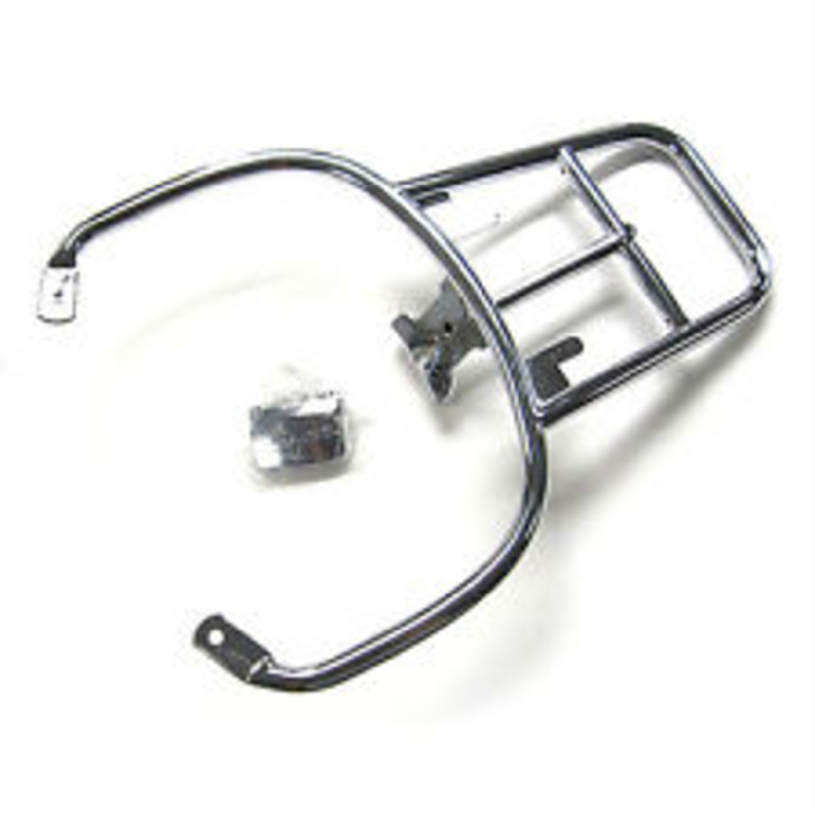 Accessories Rack, GTS Rear Chrome Top Case Carrier