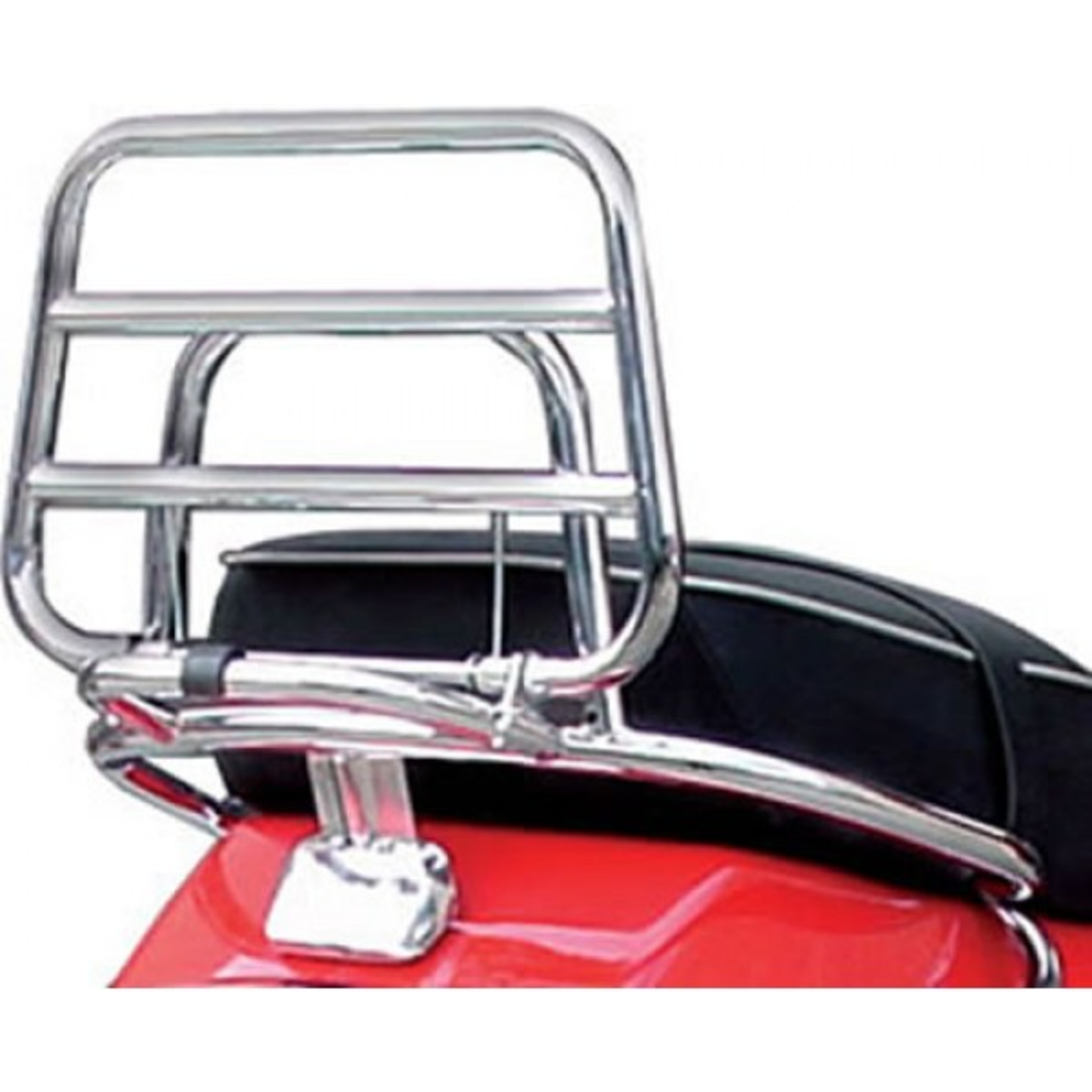 Accessories Rack, Vespa S/LX Rear Chrome W/Handle