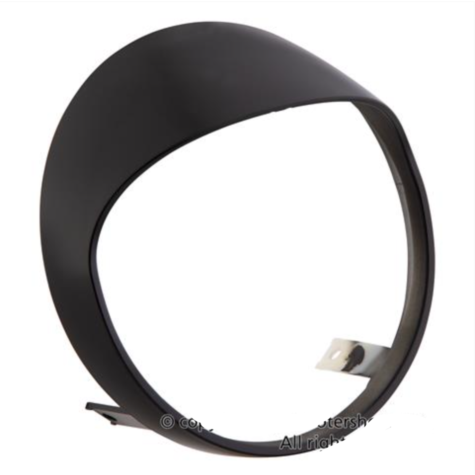 Accessories Headlamp Ring w/Visor, GTS 300 HPE Matt Black