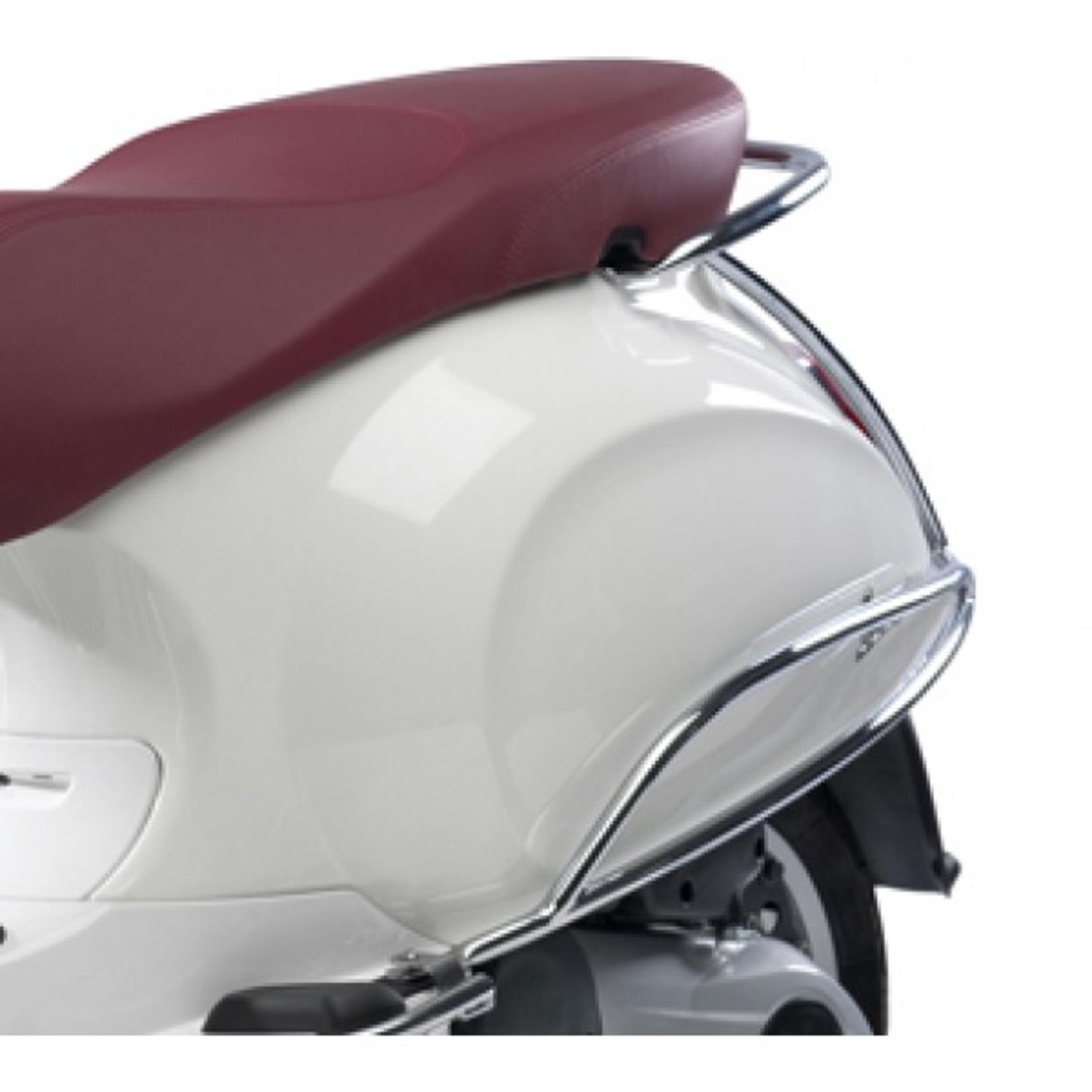 Accessories Chrome Rear Protector, Vespa Primavera/Sprint Rear Body