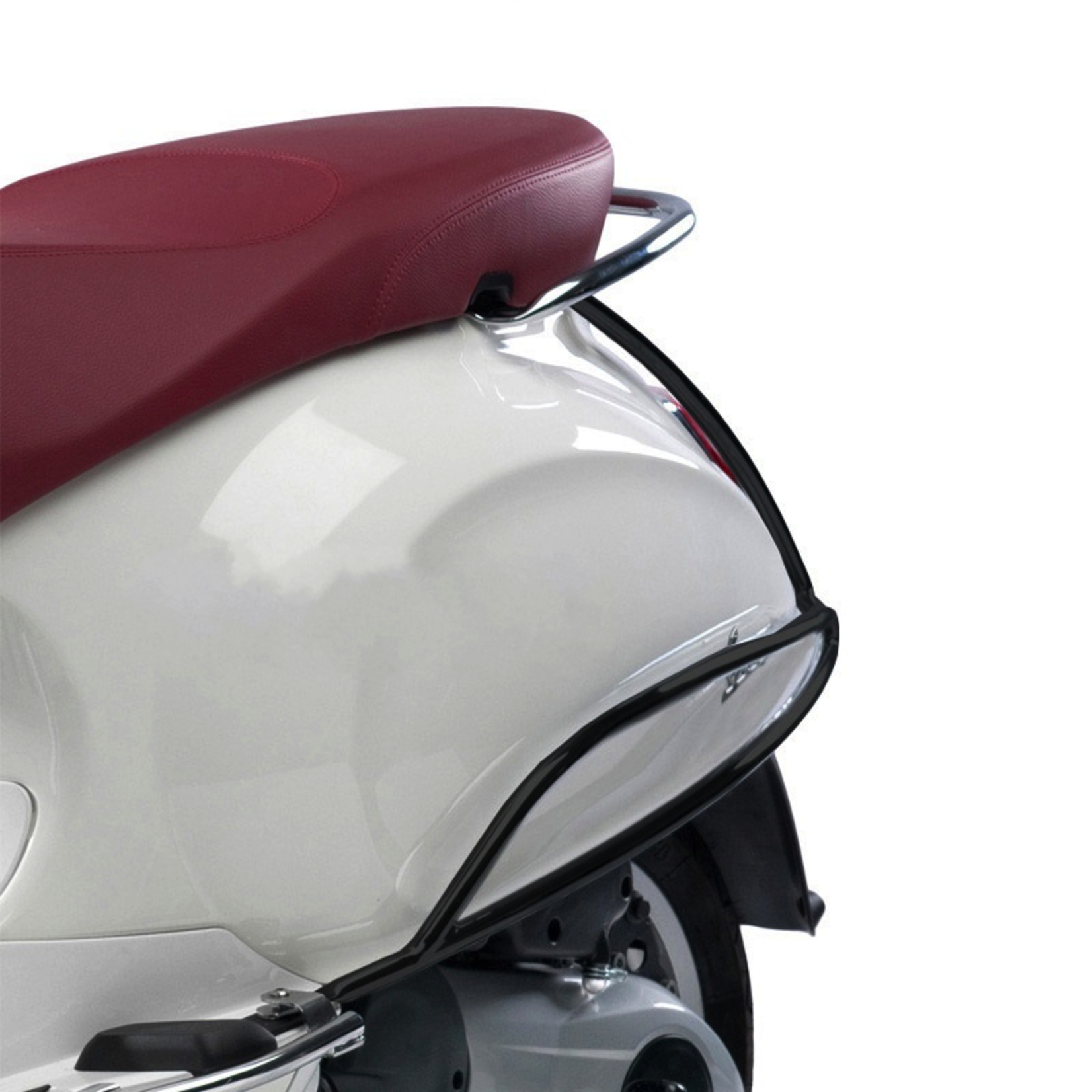 Accessories Black Rear Protector, Vespa Primavera/Sprint Rear Body
