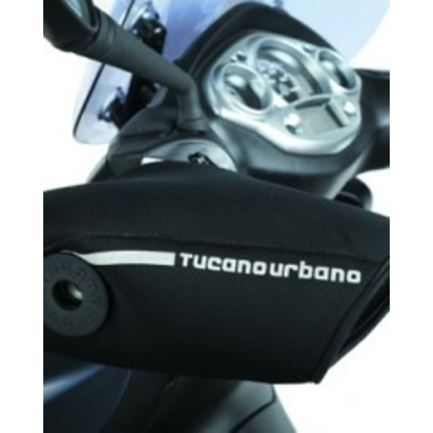 Accessories Hand Grip Cover, Tucano Urbano Universal Black (with bar ends)