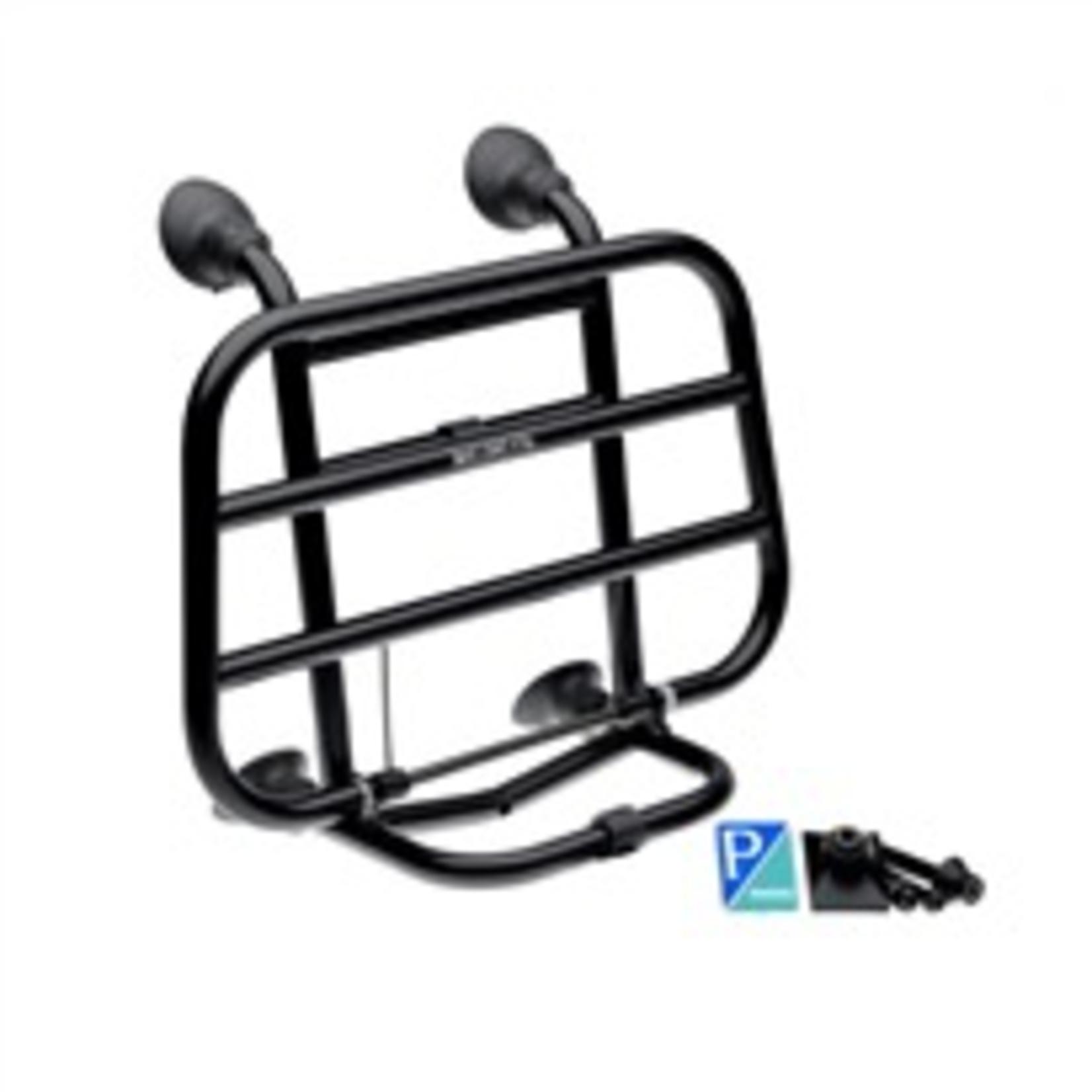 Accessories Rack, Vespa Primavera/Sprint Front Black