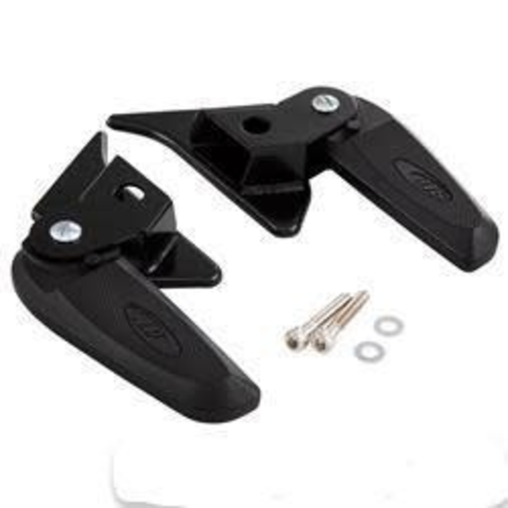 Accessories Foot Pegs, Vespa Primavera/Sprint Black 2015+