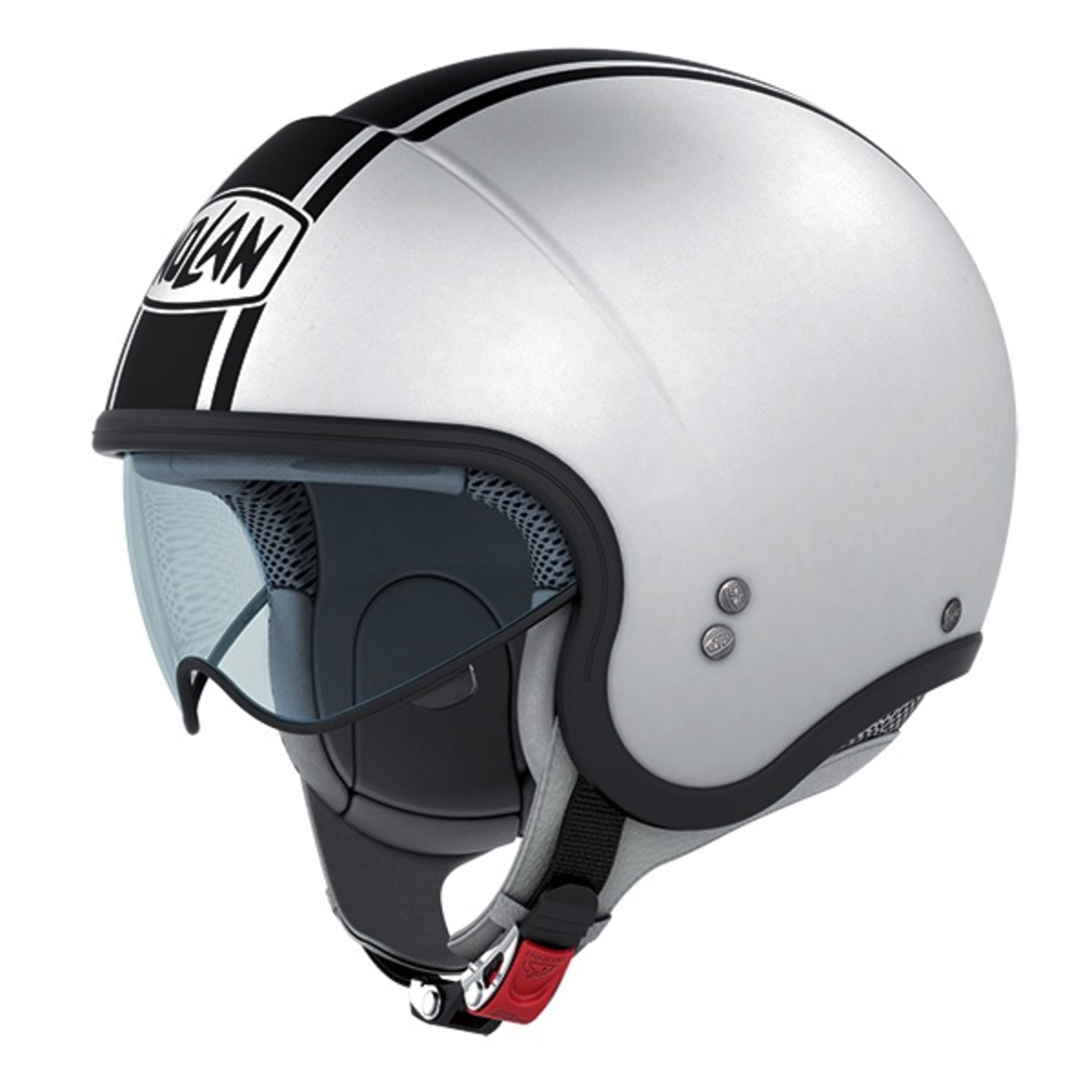 Apparel Helmet, NOLAN N21 Caribe Metal White