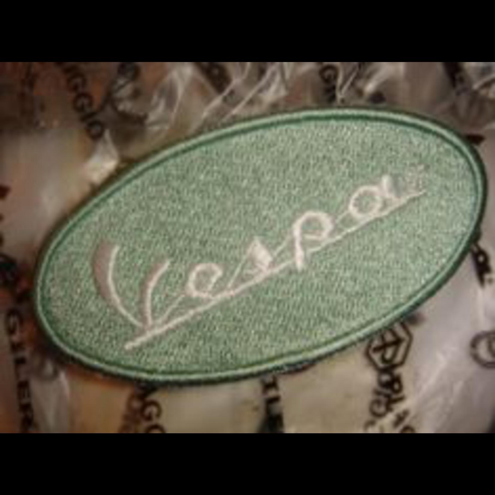 Lifestyle Patch, Vespa Oval Powder Green