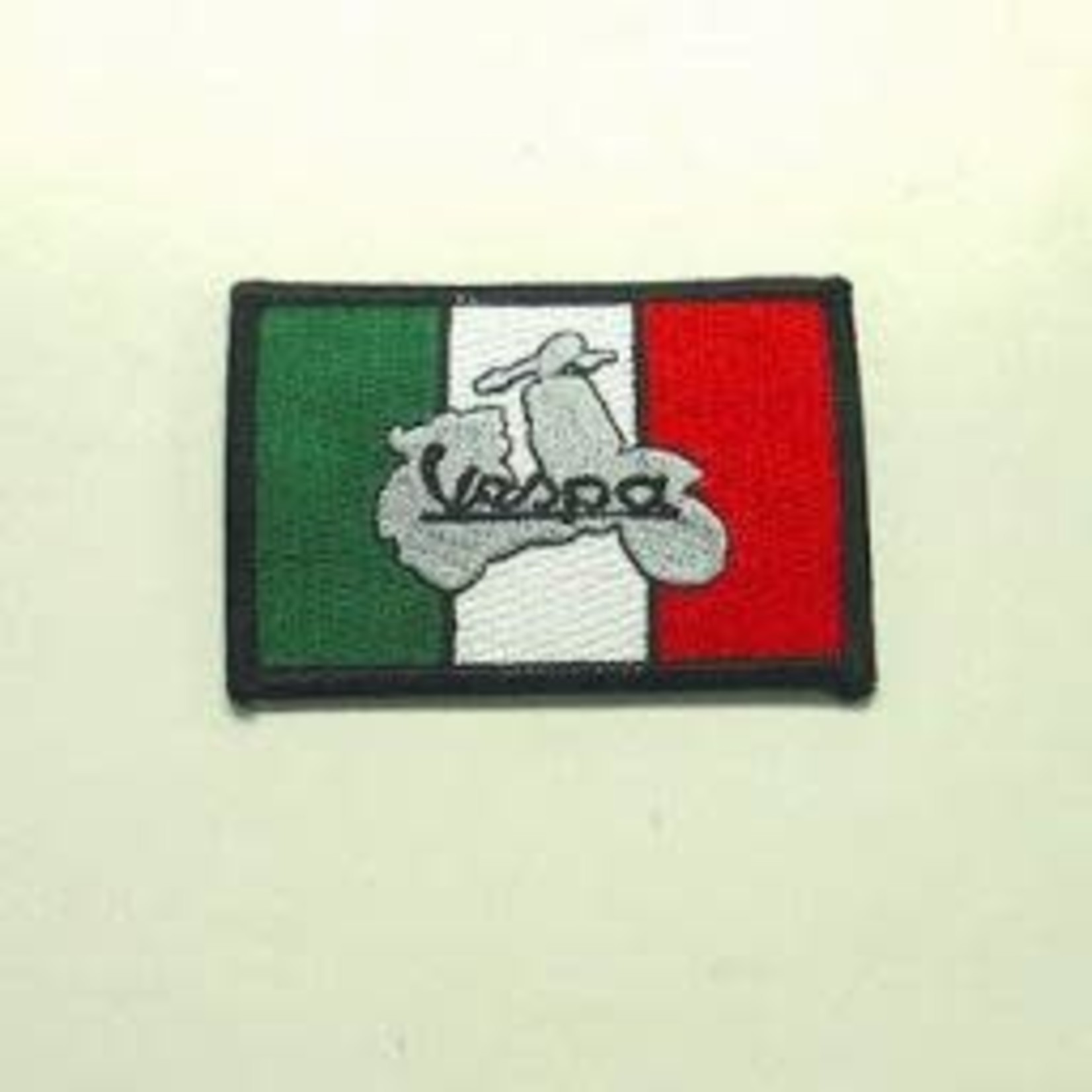 Lifestyle Patch, 'Vespa' inside Italian Flag