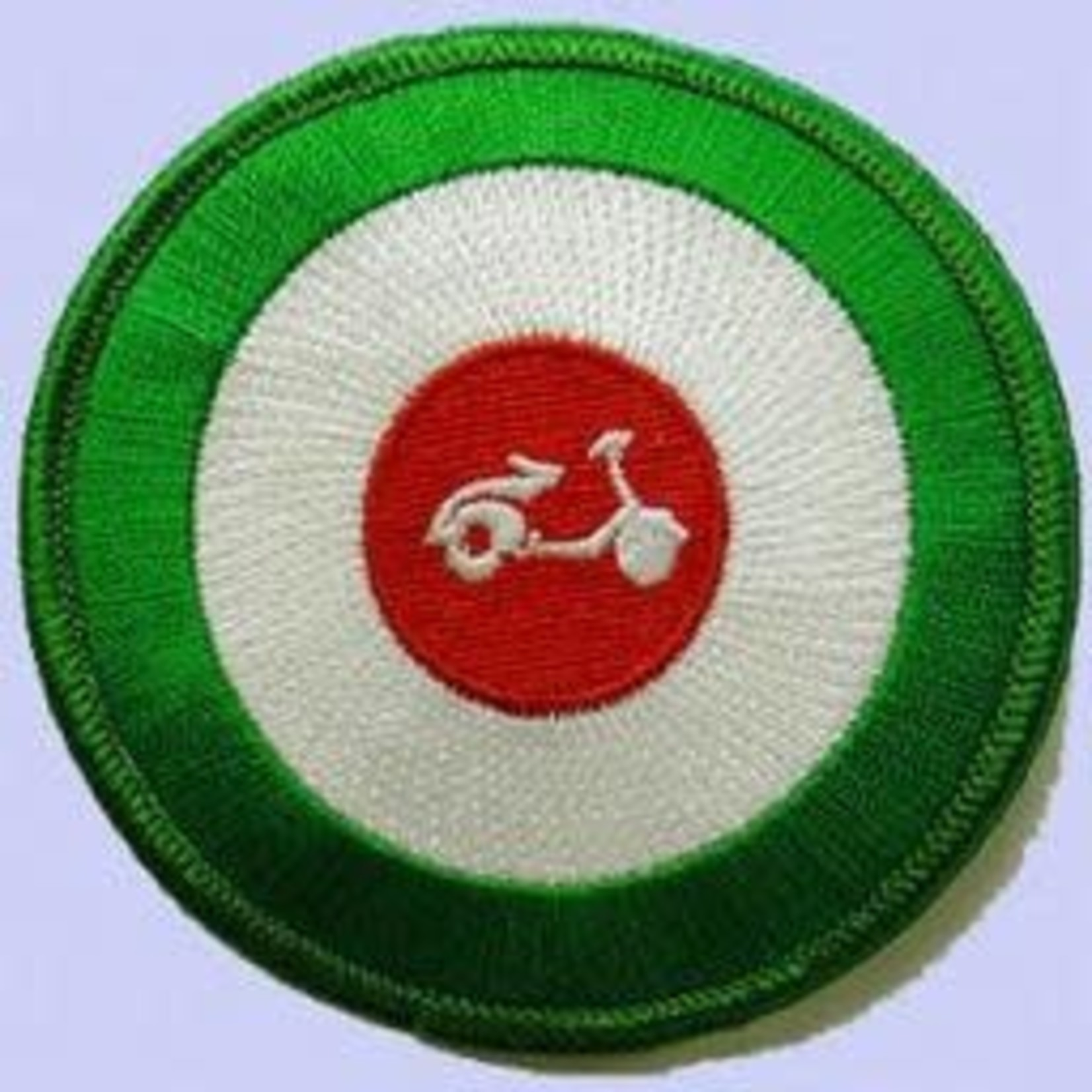 Lifestyle Patch, Scooter Target Italian RWG