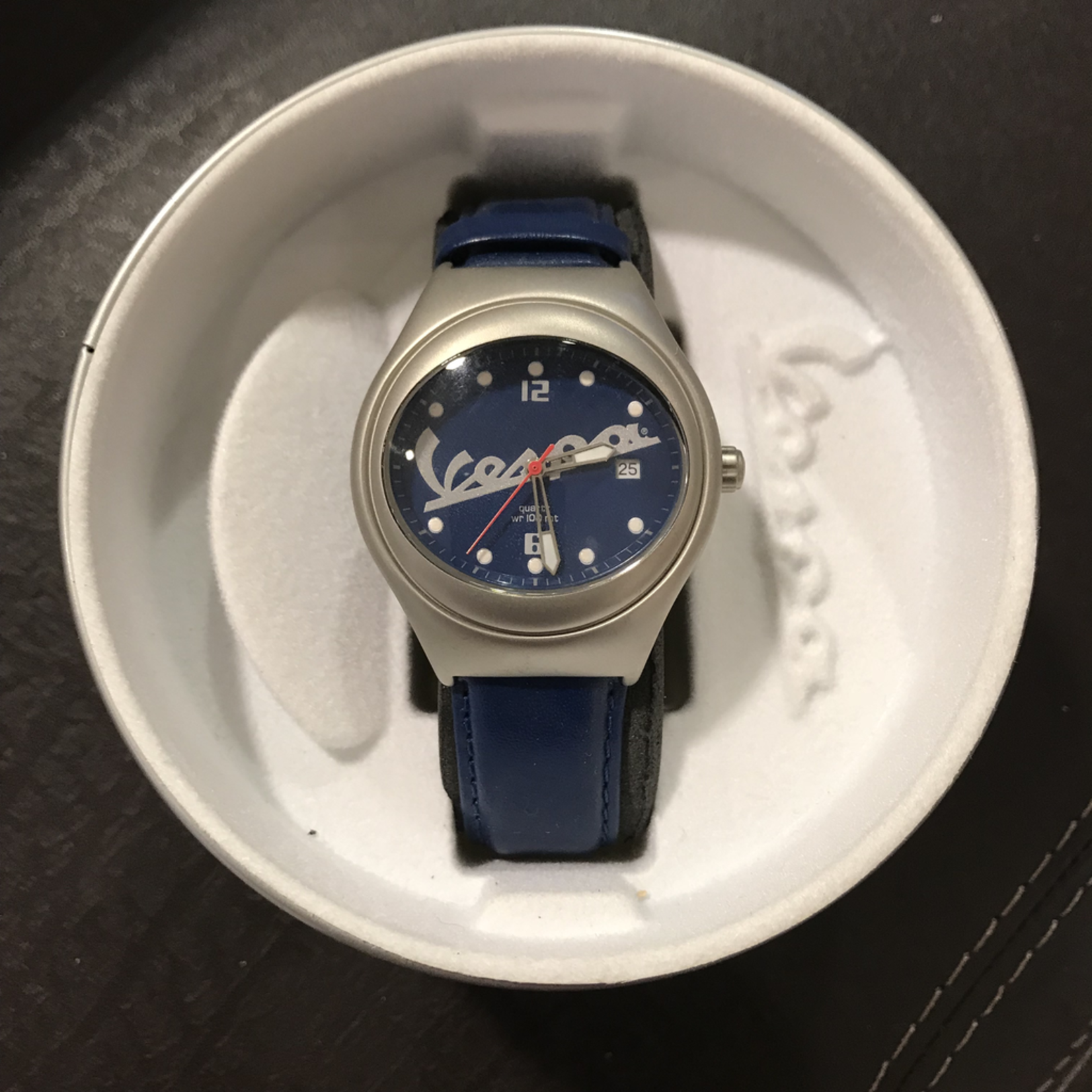 Lifestyle Watch, Vespa Blue Water Resistant to 100m