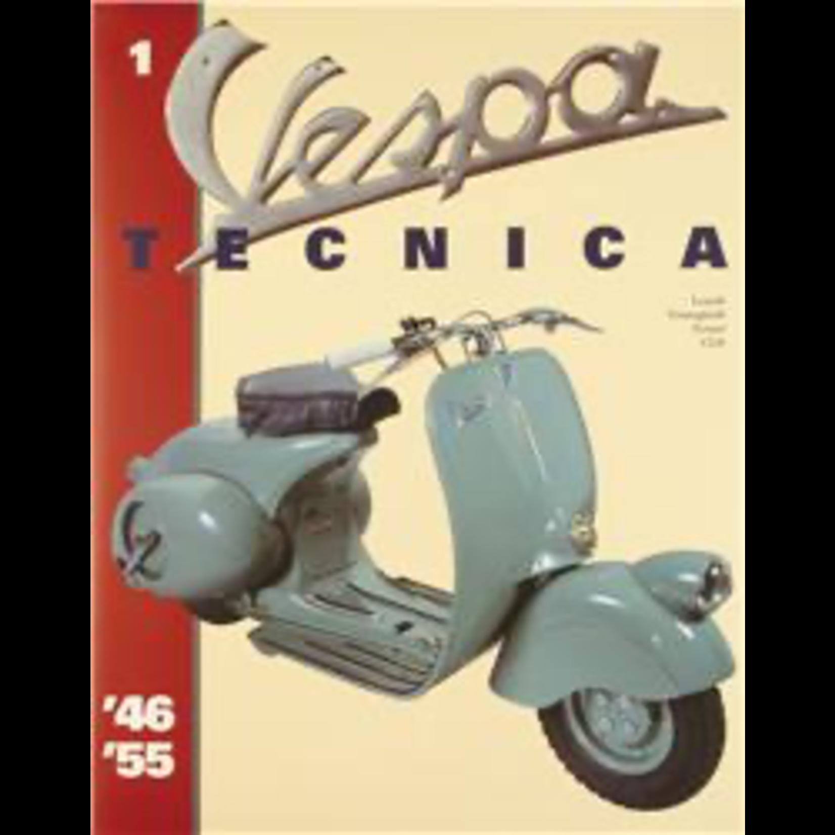 Lifestyle Book, 'Vespa Tecnica' Vol 1