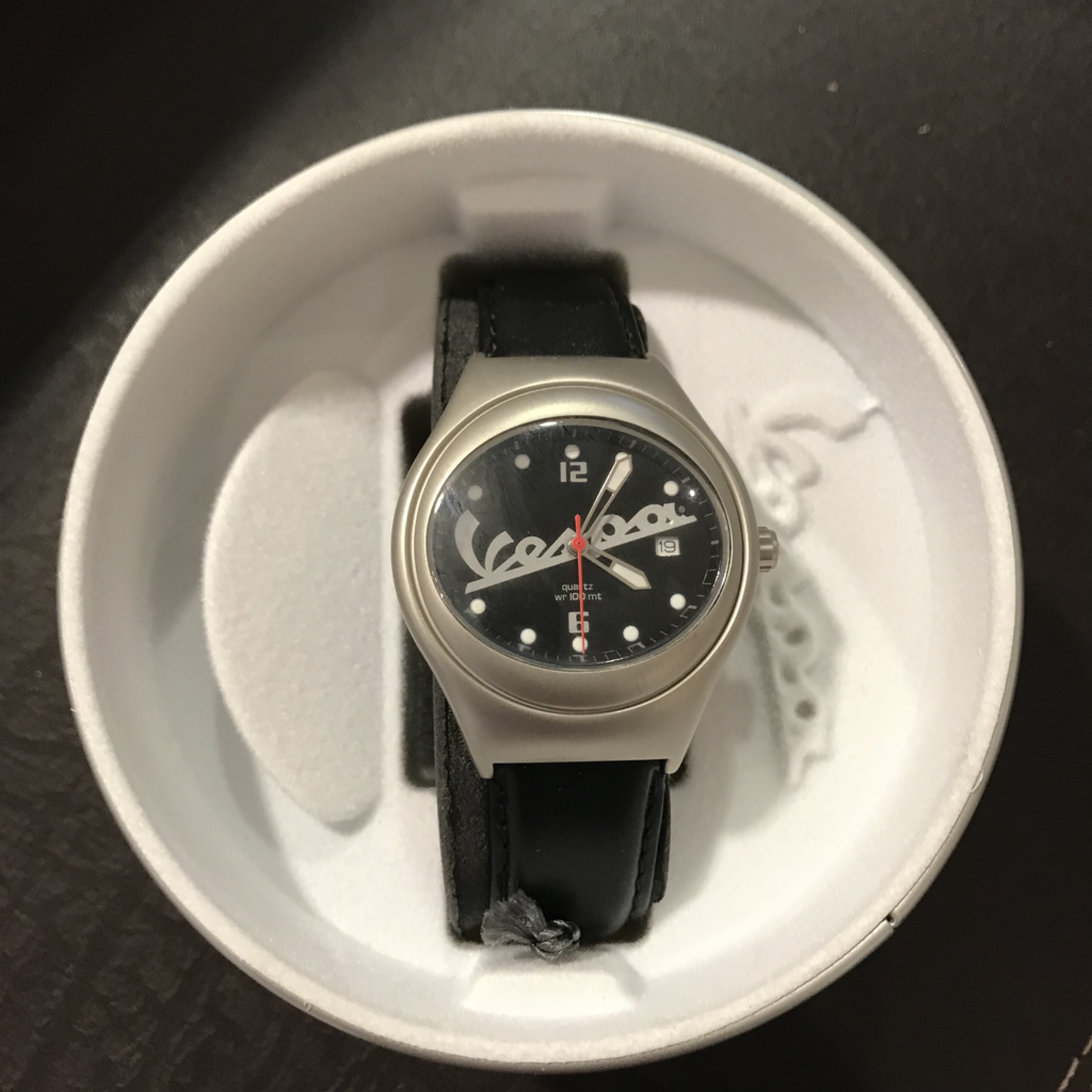 Lifestyle Watch, Vespa Black Water Resistant to 100m