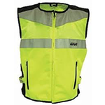 Apparel Vest, GIVI Trekker Hi-Visibility Unisex.