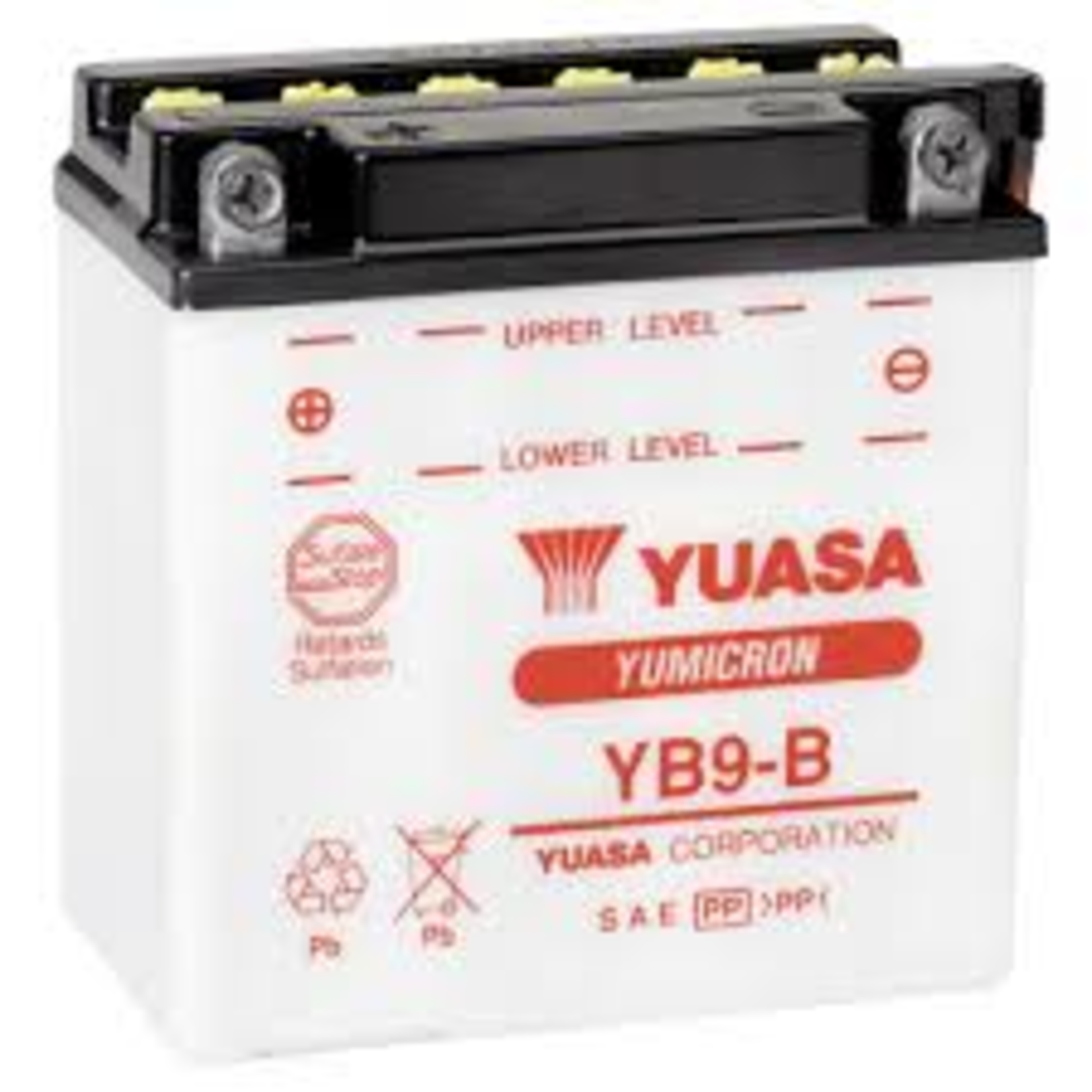 Parts Battery, YB9-B Yuasa/BS
