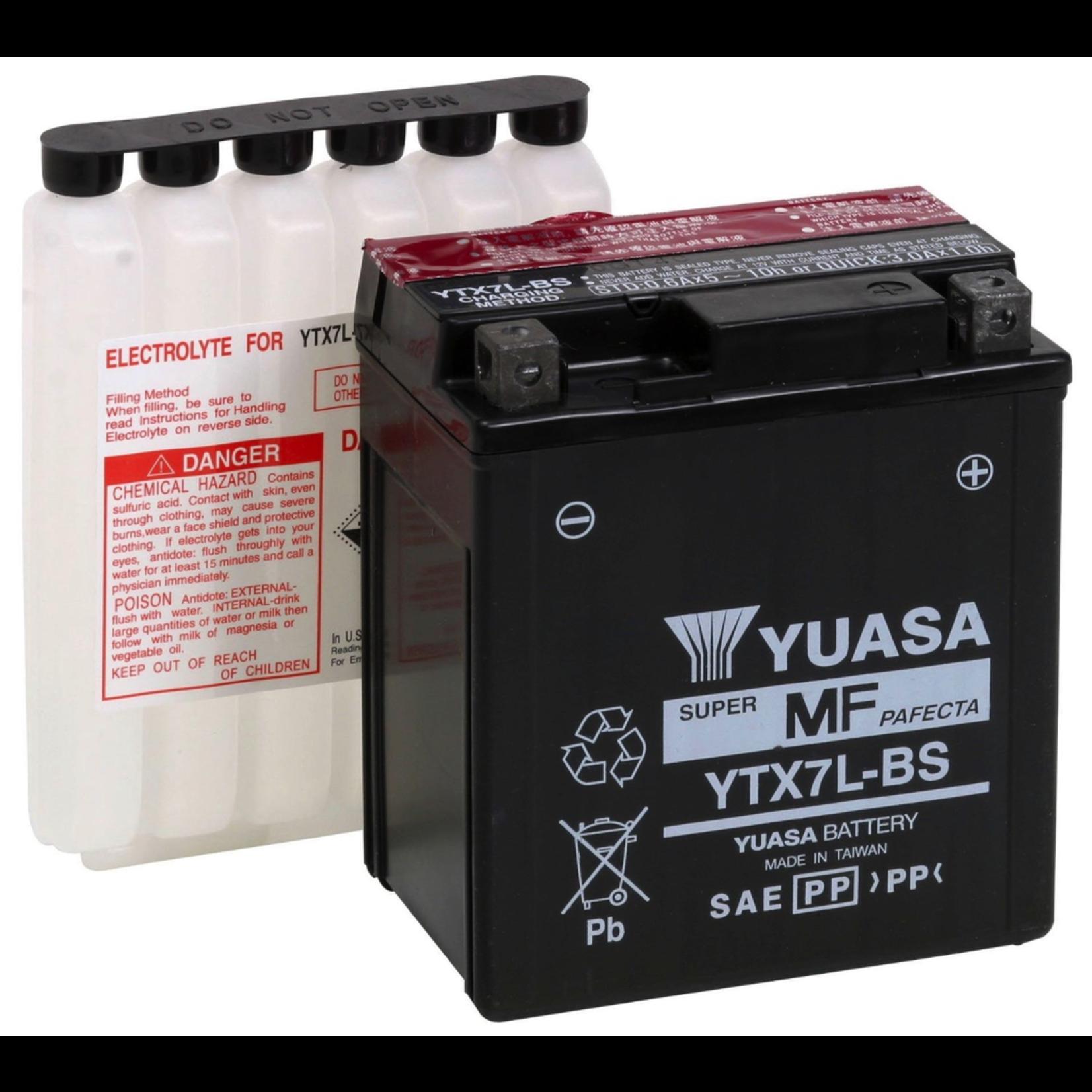 Parts Battery, Yuasa YTX7L-BS (584662)