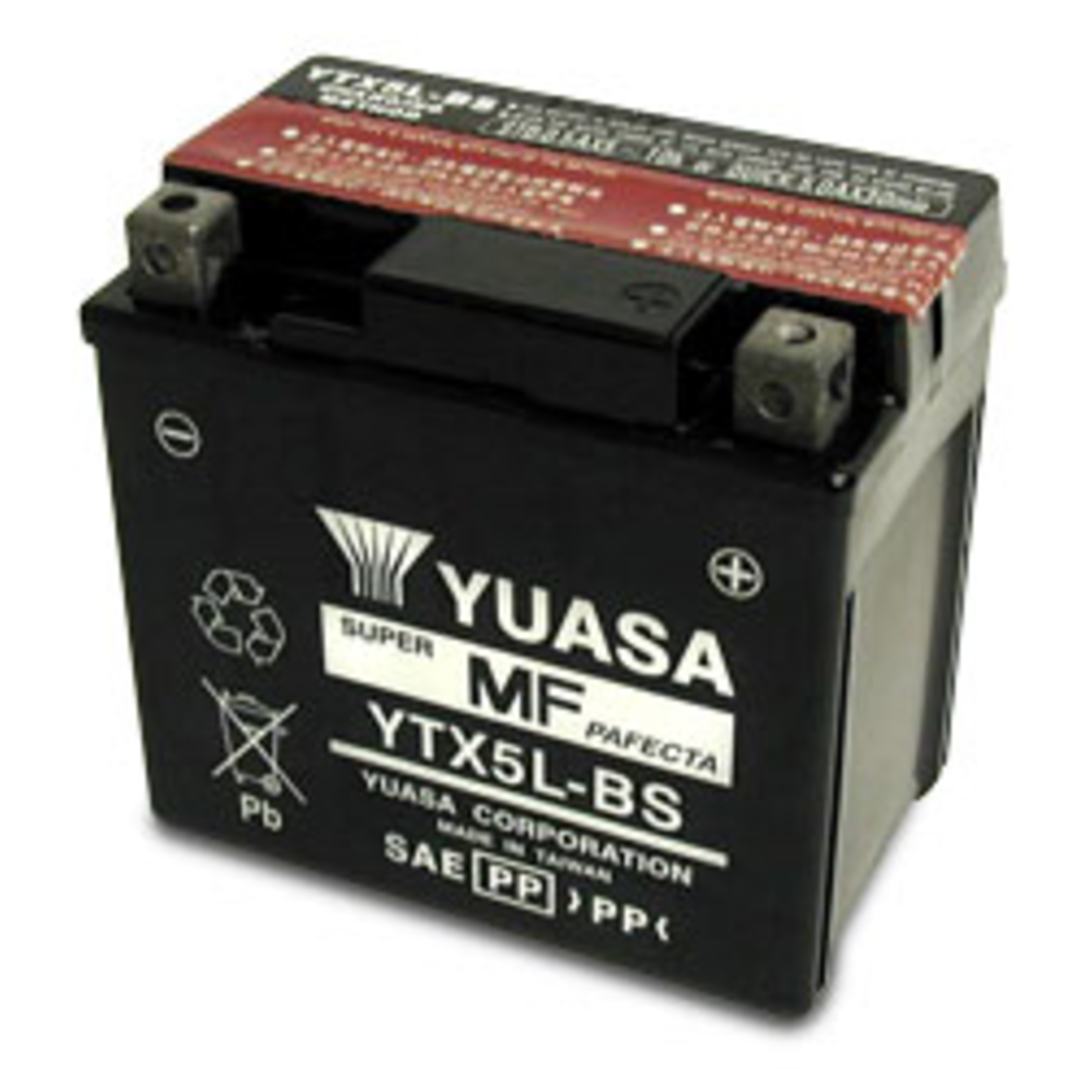 Parts Battery, YTX5L-BS Maintenance Free