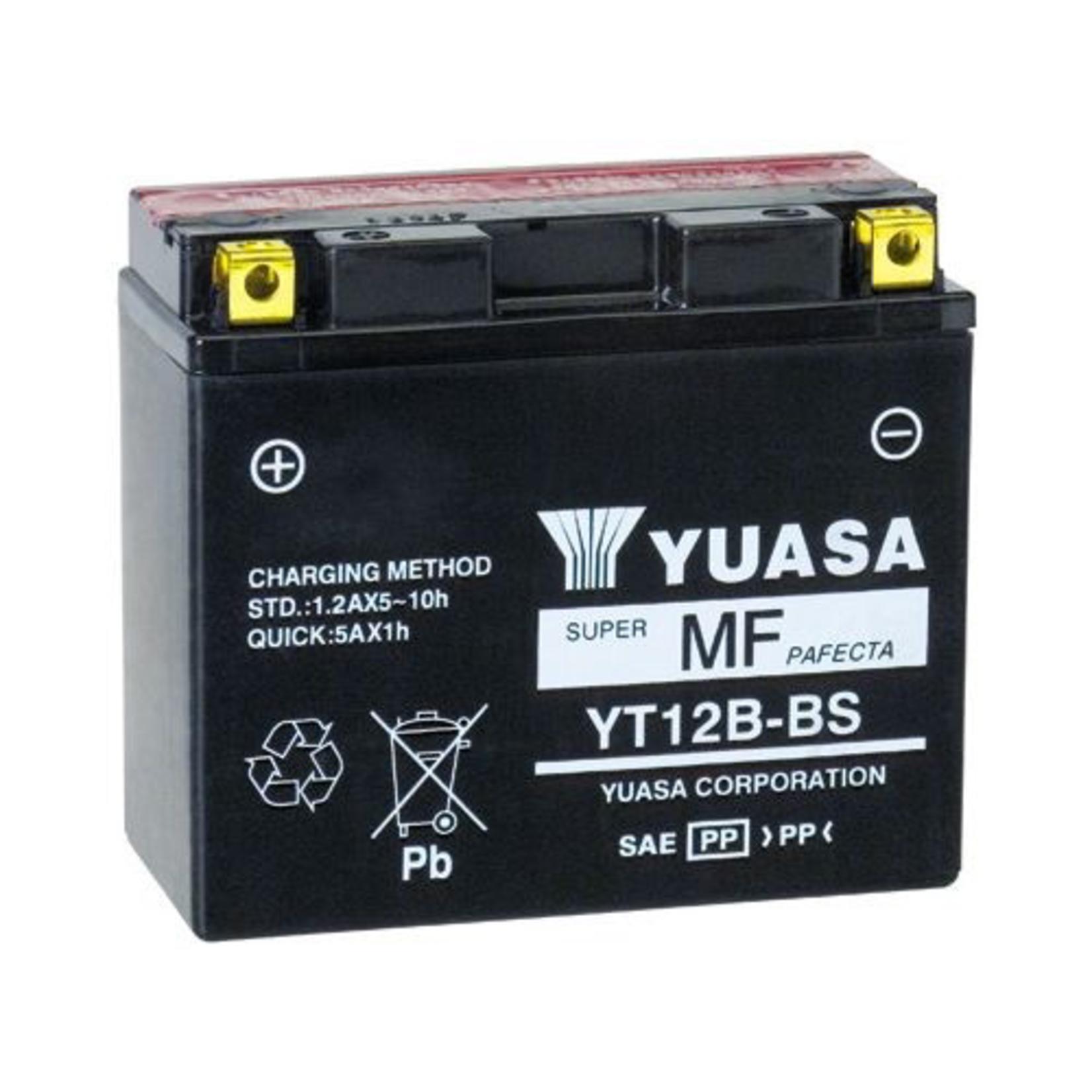 Parts Battery, Yuasa YTX12B-BS (946)