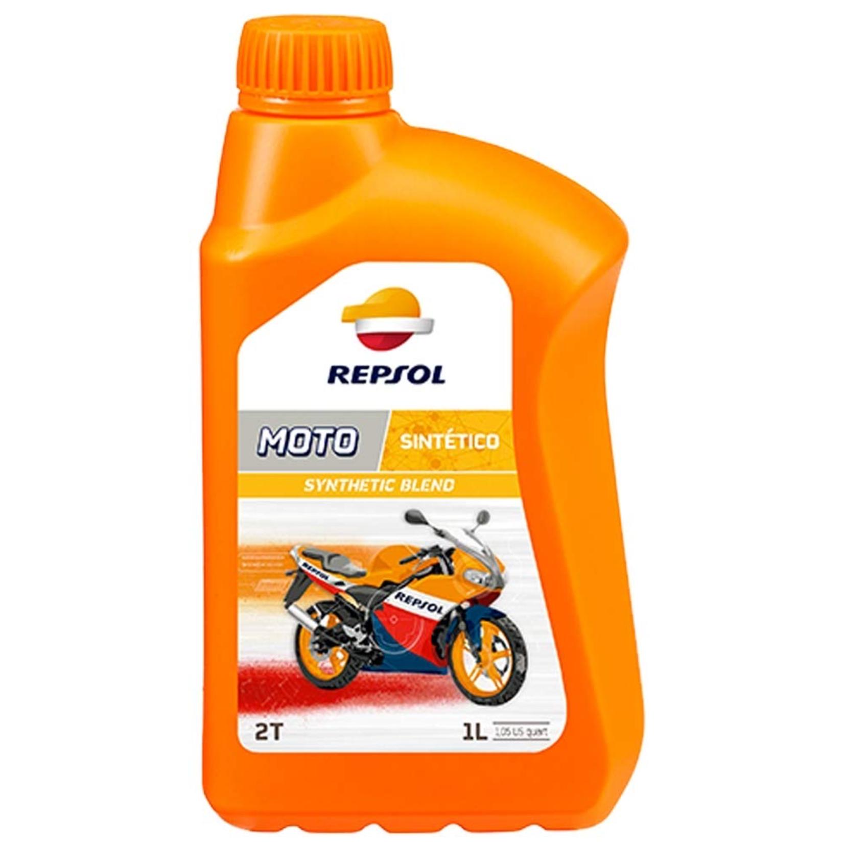 Parts Oil, Repsol 2-Stroke Moto Sintetico