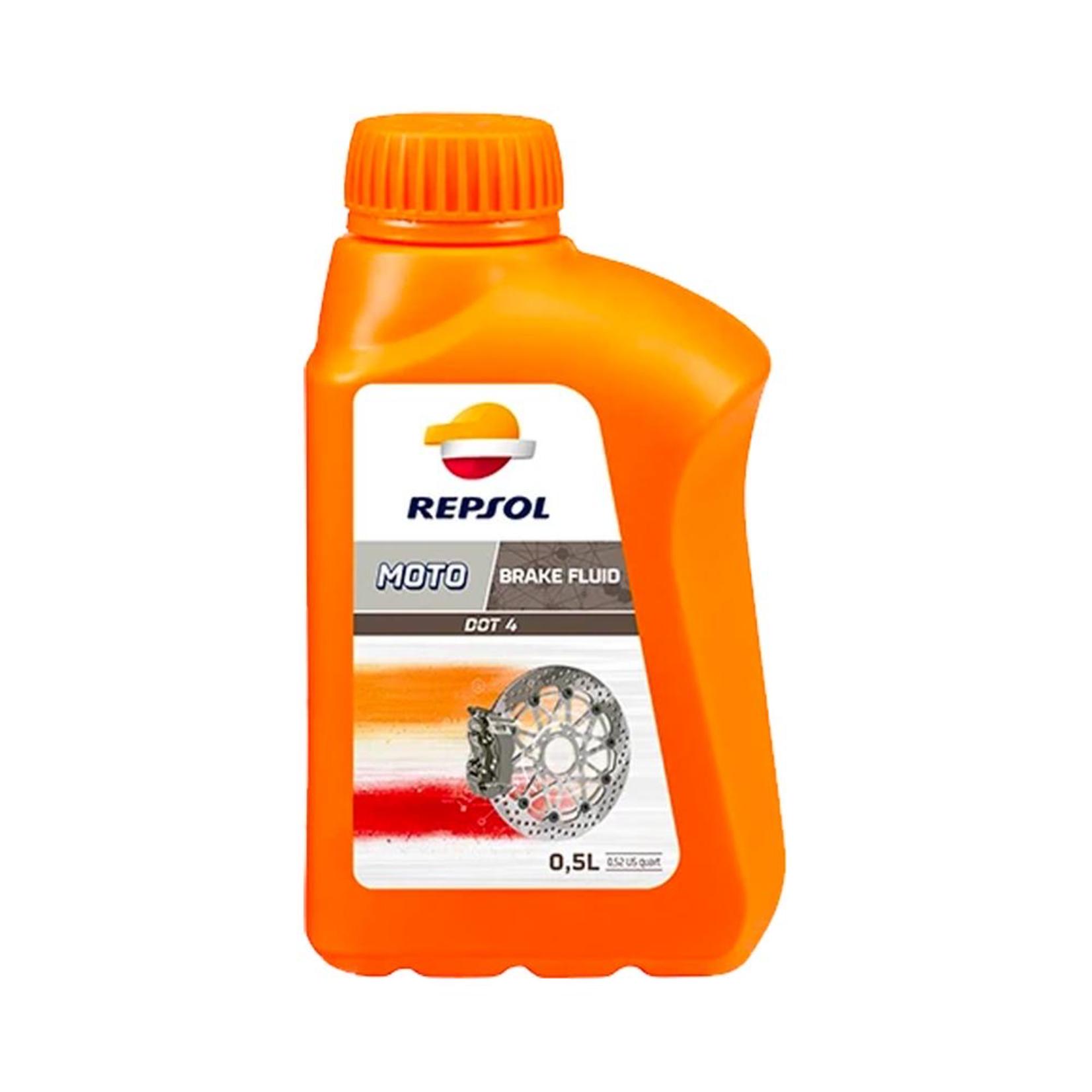 Parts Brake Fluid, Repsol Dot4 500ml