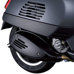 Accessories Exhaust Heat Shield, Carbon Fibre Look GTS