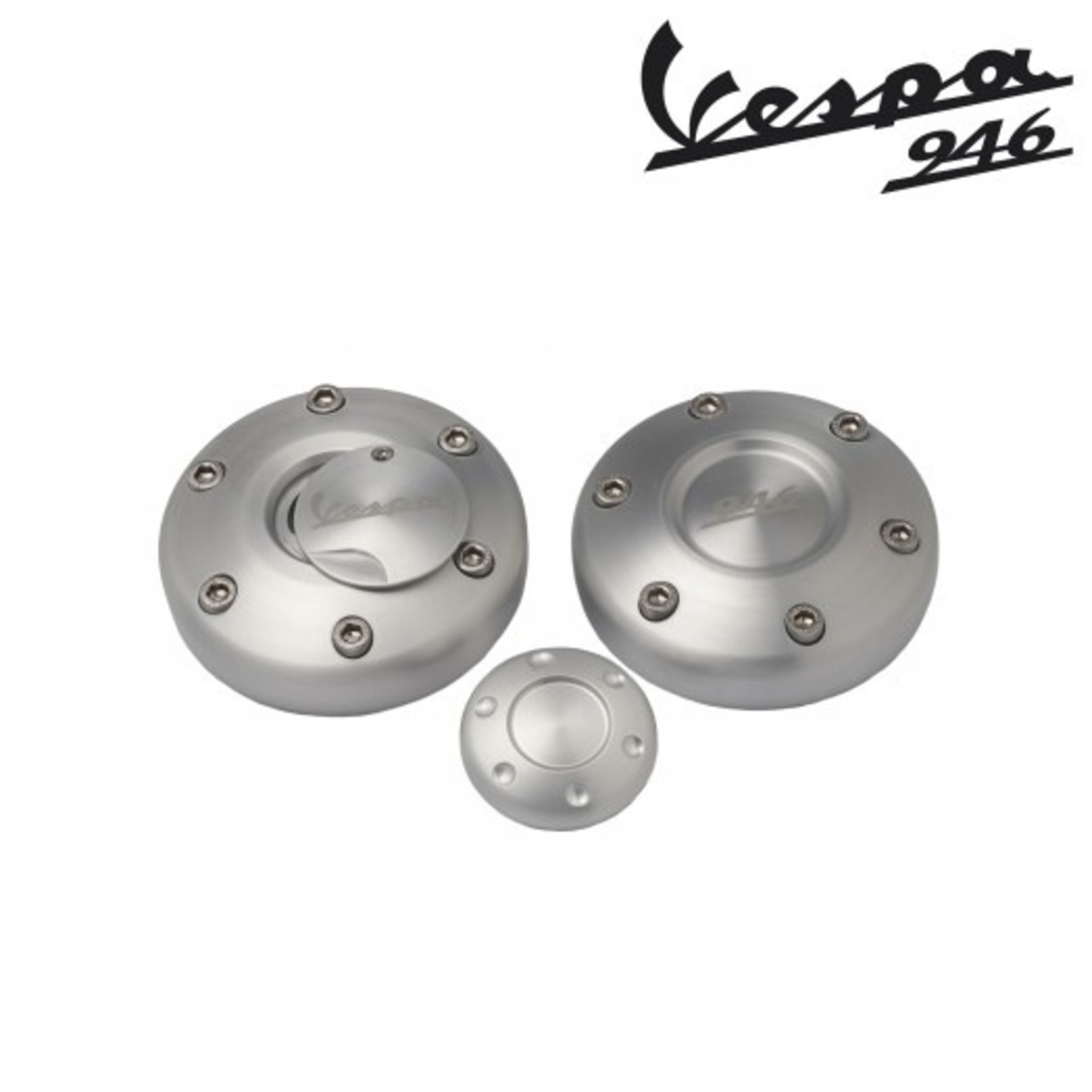 Accessories Billet Aluminum Covers, Vespa 946