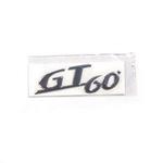"""Parts Emblem, """"GT60"""" Cowl"""