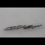 "Parts Emblem, ""GTS Super"" LH Rear Cowl for HPE"