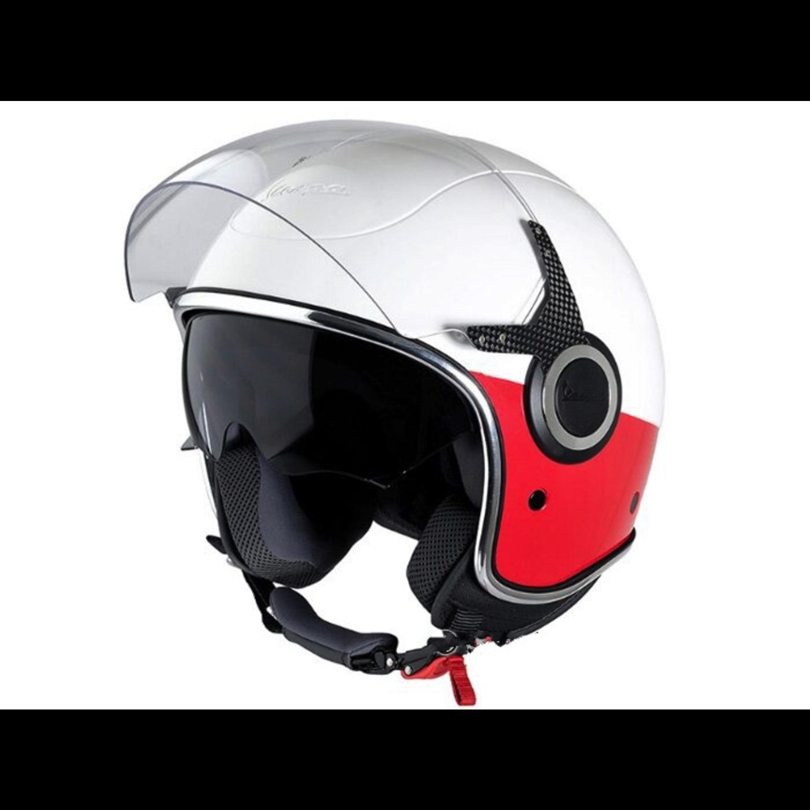 Apparel Helmet, Vespa VJ White/Red