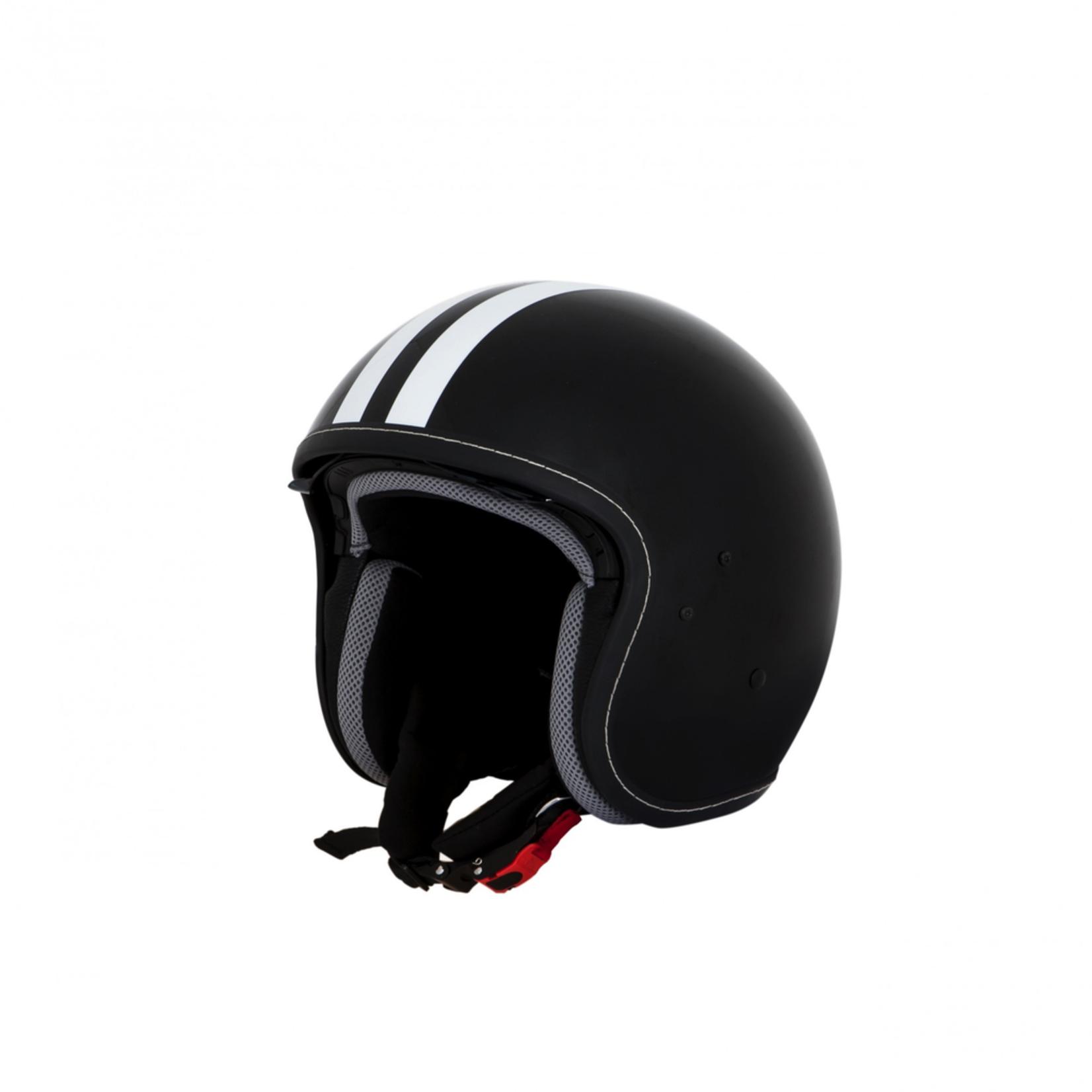 Apparel Helmet, Vespa Jet Fibre Decal Black or White