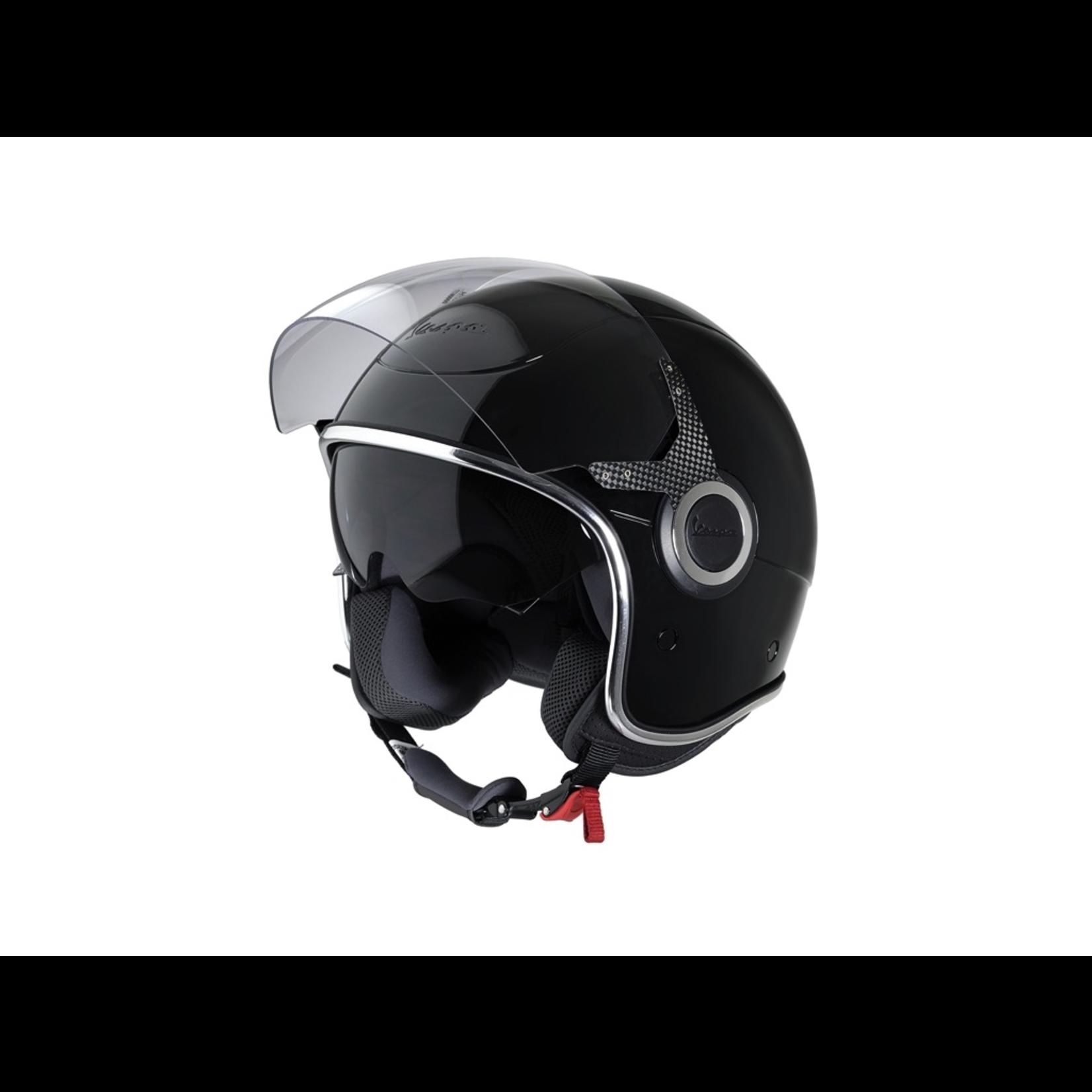 Apparel Helmet, Vespa VJ Black Gloss