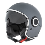 Apparel Helmet, Vespa VJ1 Titanium 707/C